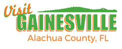 ALACHUA COUNTY'S VISITOR AND CONVENTION BUREAU Logo
