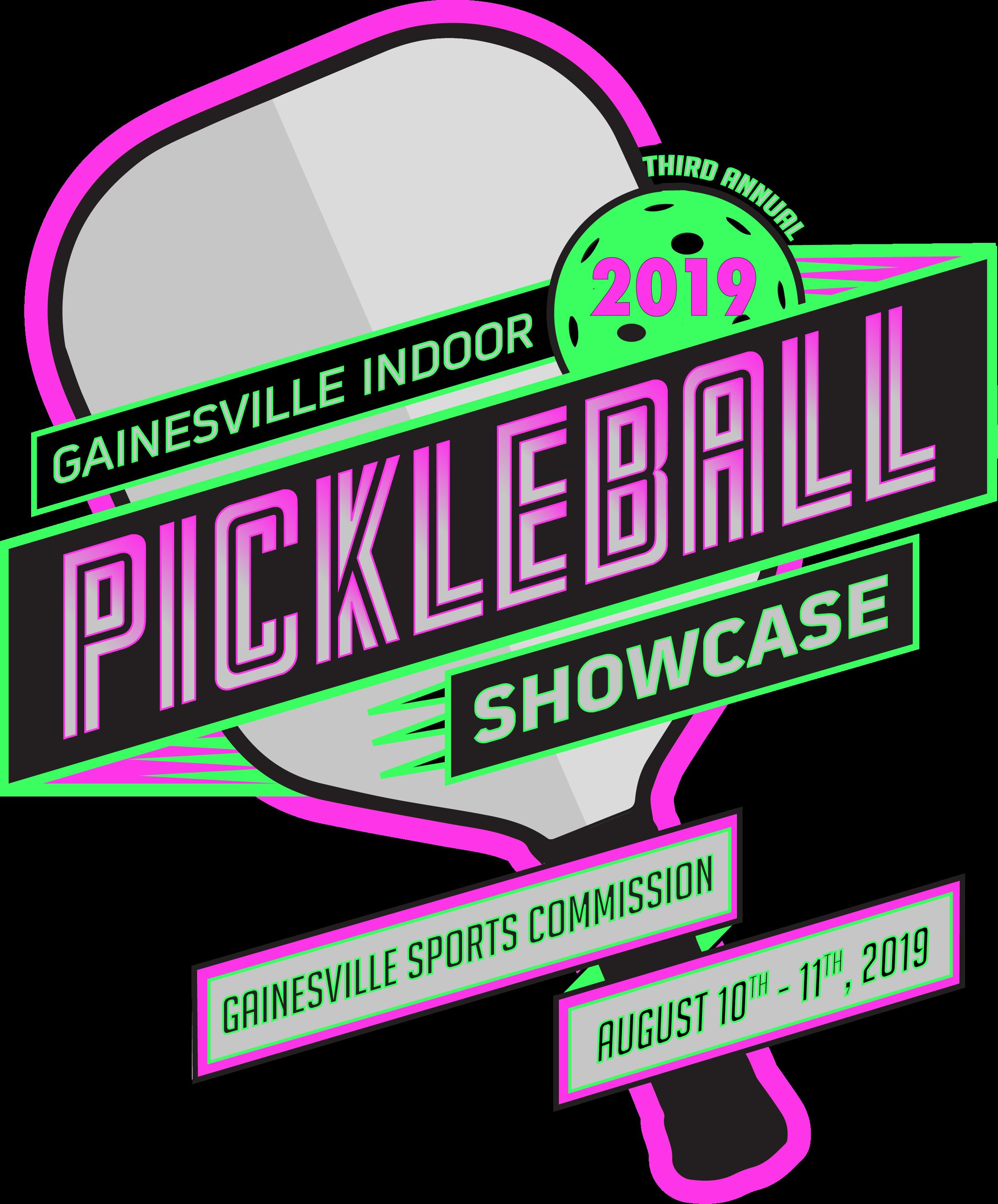 3rd Annual Gainesville Indoor Pickleball Showcase